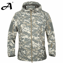 Tactical clothing spring autumn men outdoor fishing jacket army coat fall men hunting clothes Camouflage Men windbreakers hooded jacket men jacket men casual(China)