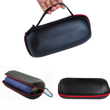 Portable Black PU Travel Carry Cover Pouch Bag Case For jbl Pulse For JBL Charge 2/2+ Wireless Bluetooth Speaker Storage Box(China)