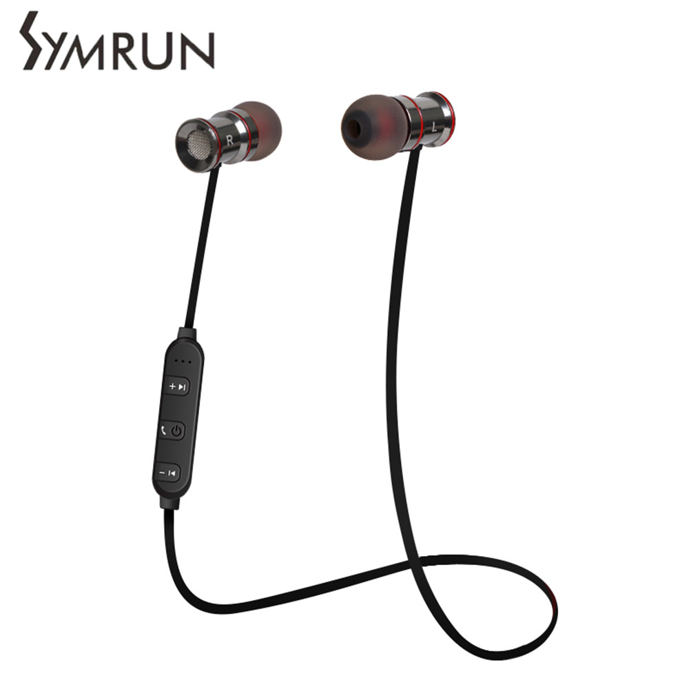 Symrun Sport Bluetooth CSR8635 V4.1 Headset Earphone Headphones Earbud For Outdoor Sport Phones Computer Earphone For Phone<br><br>Aliexpress
