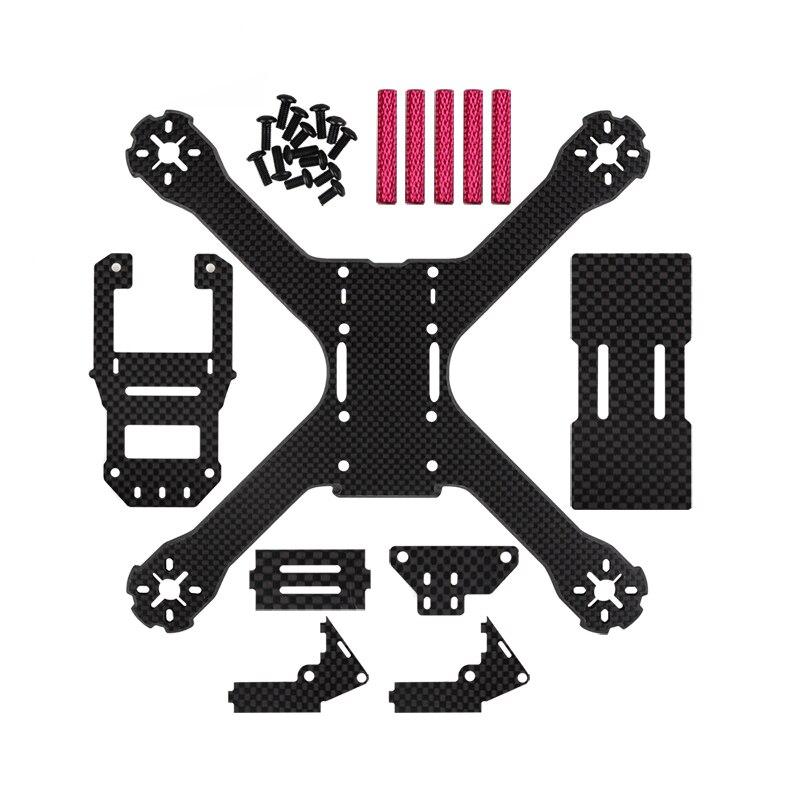 QAV-X 210 QAV210 QAV 210 210MM Pure Carbon Fiber Frame FPV RC Racing Drone Quadcopter 4mm rc frame qav210 Free Shipping