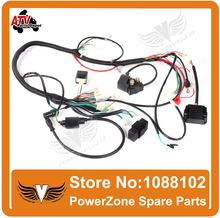 ZONGSHEN LONCIN LIFAN 150cc 200cc 250cc ATV GY6 150cc 200cc Quad Electric Parts Wire Cable CDI Ignition Coil Rely Rectifier