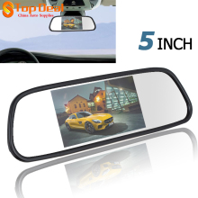 5 Inch 480 x 272 Color TFT LCD Car Mirror Monitor Wide View Angle Car Rearview Mirror Monitor Car Rear View Reverse Monitor