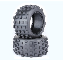 Buy Rear Knobby tires 1/5 hpi rovan km baja 5b ss rc car gas parts for $24.18 in AliExpress store