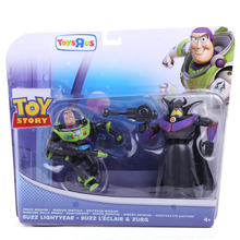 Anime Cartoon Toy Story 3 Buzz Lightyear & Zurg PVC Action Figures Collectible Toys