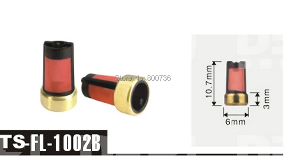 Бесплатная доставка 500 шт. 10.763 мм для Топливная форсунка микро фильтр <em>тата форсунка топливная</em> Одежда высшего качества обслуживания по ремонту топливной FL-1002B(China)