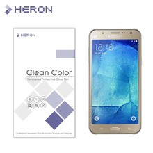 0.3mm Tempered Glass for Samsung Galaxy J7 J 7 old model 9H 2.5d Arc edge Anti Explostion Finger Print Film with Retail Package