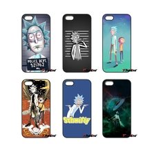 For iPhone 4 4S 5 5C SE 6 6S 7 Plus Samsung Galaxy Grand Core Prime Alpha Rick And Morty Pokemon fashion cell phone case(China)