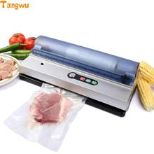 Free shipping Commercial food vacuum packaging machine for fully automatic small household sealing Vacuum Food Sealers(China)
