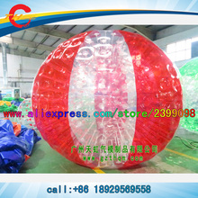 human body inflatable water aqua zorbing Zorbz ball, rolling inside inflatable ball(China)
