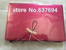 NEW Original Laptop top cover for lenovo Z380 pink LCD back cover with antenna