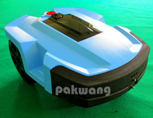 L600 Robot Lawn mower with Lithium Battery  4Ah 1 pc, Cutter protector auto hay mower, Robotic mower for home & garden