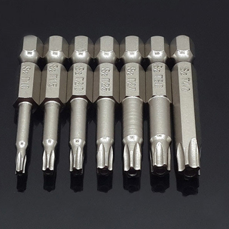 sourcing map 5pcs puntas de Destornillador de 48 mm de longitud 6mm Varilla hexagonal de 8mm tuerca magn/ética z/ócalo adaptador
