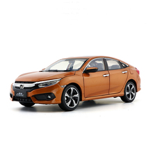 New Honda Civic 1:18 car model 10th generation original collection simulation For boy kids toys gifts original Box
