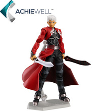 Sale Fate/Stay Night Archer Figma 223 POP 16cm Action Figure Anime Model Assembly Sword Figure Plastic Toys For Boys Gifts Dolls