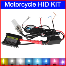 35W H6 swing angle HID Xenon Headlight Motorcycle Motorbike Bike Slim lamp Kit 4300K,6000K,8000K,10000K