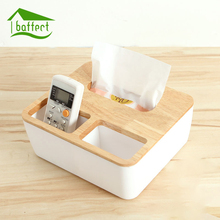 Paper Primary Color Wood Oak Car Home Rectangle Shaped Tissue Box Container Towel Napkin Tissue Holder Solid Wood Napkin Case(China)