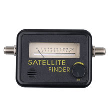 Satellite Finder Tool Meter For SAT DISH TV lnb direc TV satfinder Meter Network Satellite Dish localizador de satelite digital