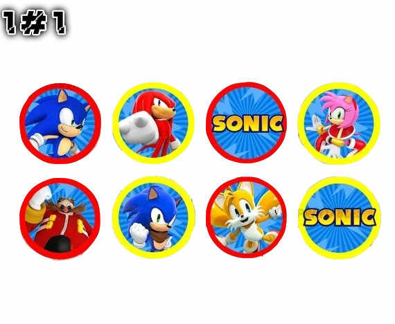 Detail Feedback Questions About Cartoon Anime Mario And Sonic Cupcake Toppers Party Supplies Birthday Decorations On Aliexpress