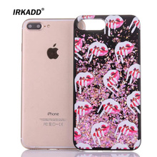 Buy IRKADD Quicksand Bling Cream Lips Case iPhone 7 Diamond Powder Liquid Glitter Plastic+TPU Soft Edge Back Cover iPhone7 for $2.95 in AliExpress store