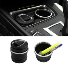 car Ash Tray Ashtray Storage Cup With LED for BMW 1 3 4 5 7 Series X1 X3 X5 X6 Brand New(China)