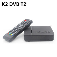 SZ RUSSIA/EUROPE/THAILAND k2 dvb-t2 Tuner MPEG4 DVB T2 HD Compatible With H.264 TV Receiver / HDMI PAL/NTSC Auto Conversion(China)