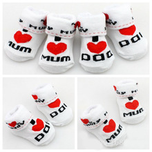 Buy 6 Pairs/Lot baby socks newborns Anti Slip warm floor Children socks winter kids foot warmer boy girl christmas HJS7139 for $7.70 in AliExpress store