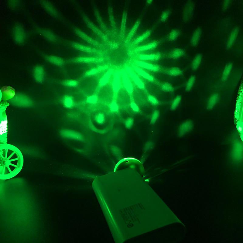 Led Lamp USB Mini Magic Stage Light DC 5V Portable RGB LED Neon Light Crystal Rotating Ball Color Change With Music Rhythm (10)