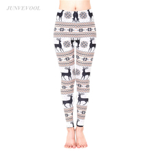 Buy Animal Deer Leggings 3D Print Harajuku Fitness Legging Sexy Workout Christmas Women Punk Rock Sportswear Legins Femme 2017 for $11.05 in AliExpress store