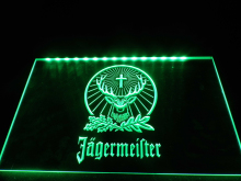 LR001- Jagermeister  LED Neon Light Sign hang sign home decor  crafts