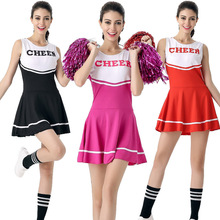 Direct Selling Sexy High School Cheer Musical Glee Cosplay Cheerleader Set Sexy School Girl Sports Costume Cheerleader Costume