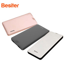 Besiter 10000 mAh Mobile Power / Power Bank Intelligent Compatible with QC3.0 Rapid Charge Ultra-thin Polymer(China)