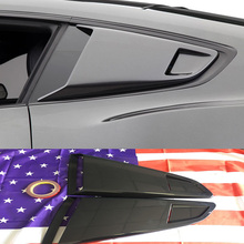 For Ford Mustang PP Auto Car Side Window Air Vent intake Trim Cover Sticker 2015 2016 2017
