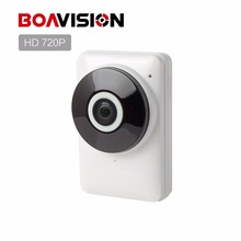 HD 720P Wifi IP Camera Panoramic 180 Degree View Night Vision Mini Wireless Baby Monitor 1.0MP CCTV Smart Camera Security P2P(China)