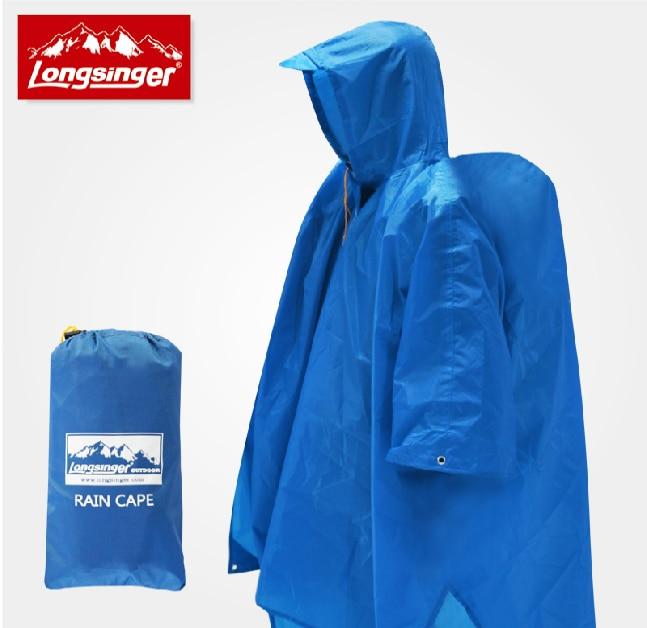 Women Men Travel Bags Raincoats 3 Function3 Bicycle Poncho /Tour Mat / Camp Tent  Outdoor Climbing Rain Coat Camp capa de chuva