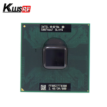 Intel Core Duo T8300 CPU 3M Cache 2.4GHz 800MHz FSB Dual-Core Laptop processor for 965 chipset(China)