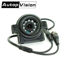 AV-782 CCD IR good night vision 120 degree waterproof front side rear view car camera for Motorhome Bus Trailer Truck Car