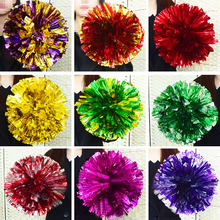 50g,1-12pieces,22colors,Game Cheerleader Cheerleading pom poms Cheerleading pompoms cheer pom majorettes hand flower aerobics