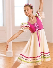 kids children kids adult Scotland modern dance dress Ballet Dress Bailarina Balet tap jazz dance costume