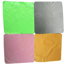iTECHOR Hot 4pcs Large Microfiber Cleaning Cloth for Glasses Screens Lenses 20*20cm - color random