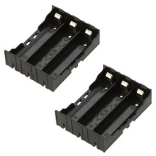 Brand New 1pcs DIY Black 18650 Battery Case Holder Storage Box Holder Case For 3 x 18650 3.7V Rechargeable Batteries #ET65