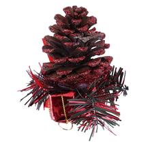 1pcs Christmas Tree Hanging Tree Deer Pine Cone Pendant Ornament Decor Christmas Tree Decoration
