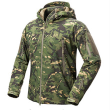 Hunting Jacket Shoe Skins V5 Soft As Shells Climbing Case For Men Waterproof Winter Fleece Army Coat Clothes Camouflage Jackets(China)