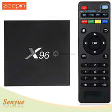 Original X96 Android 6.0 TV Box Amlogic S905X Quad Core 4Kx2K HD 2.4GHz WiFi HDMI 2.0 with USB 2.0 AV LAN TF Card Slot Mini PC