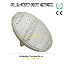 Stage and Theater Blinder 2/4/8 Lamp Bulb DWE PAR 36 650W 120V Lamps With Screw Terminal For Audience Blinders