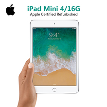 Apple iPad Mini 4 7.9 inch with Wi-Fi 2gb RAM 16gb Flash Disk ROM Tablet PC (Apple Certified Refurbished)(China)