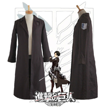 Attack on Titan counterattack Wings Levi / Eren Jager cloak cosplay clothing apparel Jackets(China)