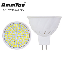 Bright MR16 Lampada LED Lamp DC 12V MR16 GU5.3 Bombillas LED Spotlight 220V 110V 4W 6W 8W  Lampara Led Spot Light Home Lighting