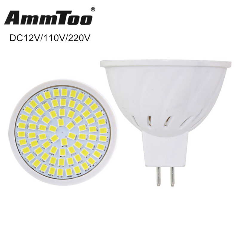 Bright MR16 Lampada LED Lamp DC 12V MR16 GU5.3 Bombillas LED Spotlight 220V 110V 4W 6W 8W Lampara Led Spot Light Home Lighting(China)