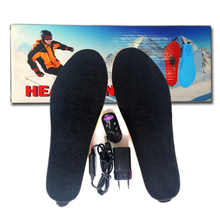 Electric heating insole remote control  insoles Free shipping winter insert warm boots shoes woman and men shoes insoles 1900MA