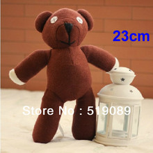 "Free Shipping 23cm=9"" Mr Bean Teddy Bear Animal Stuffed Plush Toy, Brown Figure Doll Christmas Gift Toys"